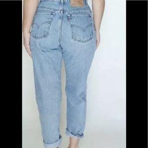 VTG Levi Jeans 550Authentic Light Denim High Waist